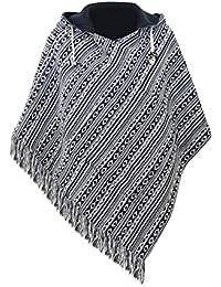 virblatt – Handgefertigter Sommer Poncho und Baja Jacke für Frauen Relaxed