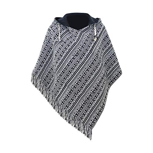 virblatt - Poncho Damen Pullover Ethno Baja Sommer Hippie Kleidung Jacke Alternative - Relaxed bl