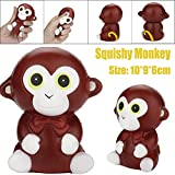 YUYOUG_Squishy Jumbo Cartoon Cute Monkey Scented Cream Slow Rising Squeeze Stress Relief DecompressionToys /Collections/Cellphone Straps Gift for Children Adult