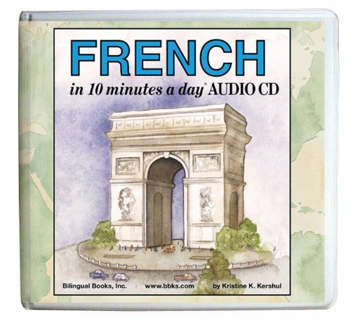 10 Minutes a Day Audio CD Wallet: French (10 Minutes a Day Series)