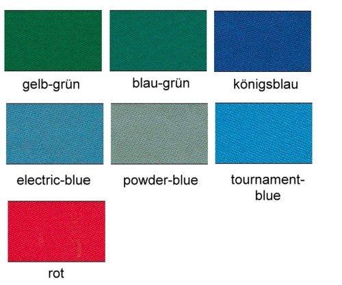 Simonis 760 Billardtuch, 165cm, Preis pro lfdm, Farbe:02 - blau-grün by Simonis