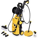 Electric Pressure Washer 2000psi 135BAR Water Power Jet Sprayer High Power Quick Release