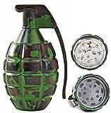 Seiler24 Metallgrinder Handgranaten Design Camouflage Optik