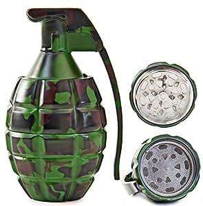 Seiler24 Meuleuse grenades à main en métal de conception optique de camouflage