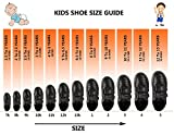 Action Synergy 1260 Black/White School Shoes (Size 007C UK/Age 1.5-2 Years/Length 14.6cm., Black)