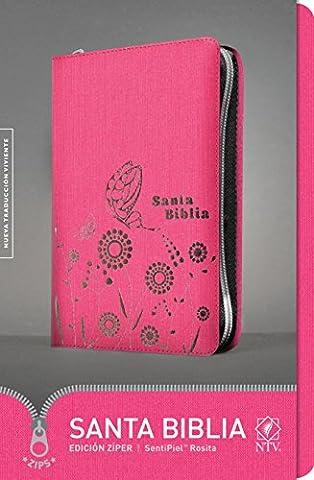 Santa Biblia / Holy Bible: Nueva Traduccion Viviente, Edicion Ziper / New Living Translation, Zipper Edition