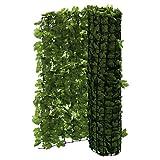 PureDay Balkon-Sichtschutz Efeu - Zuschneidbar - Grün - 3 x 1 m