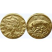 Römischen Reiches Medaille Der Konstantin Der Große Erste