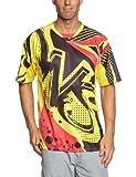 Dainese All Mountain Trikot Granite Short Sleeve, nero/rosso/giallo, L, 3895829582