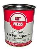 750ml Rotweiss Schleif + Polierpaste Politur 5100