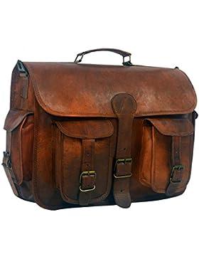 Serguio Rogetti , Herren Schultertasche braun braun Briefcase / Satchel