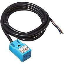 Sourcingmap a12080200ux0705 - Dc 4.8-30v 500ma npn nc 3 cables de 4 mm interruptor del sensor de proximidad inductivo sn04-n