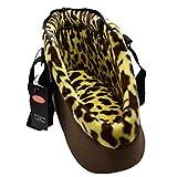 Yihya Portatile Pet Carrier Bag Messenger Borsa Sacchetto Spalla Pacchetto Pouch Piccoli Cane Cani Gatti Puppy All'aperto Viaggiare Borsa per Pet testa Out - Colore Cafe ( Dimensione S: 40*21*16cm)