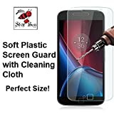Shop Buzz Screen Guard for Motorola G4 Plus - Ultra Clear HQ - (Designed for Moto G Plus 4th Gen)