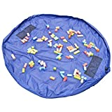 Children's Play Mat and Toys Storage Bag...