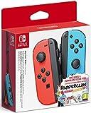 Nintendo - Set De Joy-Con Para Derecha Y Izquierda, Color Azul Neón Y Rojo Neón + Snipperclips Y Tarjeta Código Descarga - Edición Limitada (Nintendo Switch)
