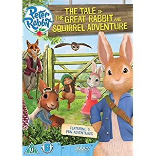 Peter Rabbit - The Tale Of The Great Rabbit & Squirrel Adventure DVD