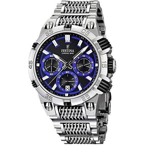 Festina Herren-Armbanduhr XL Chronograph Quarz Edelstahl F16774/5 - Festina Uhren
