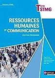 Ressources humaines et Communication - Tle STMG by Fabienne Kéroulas (2013-04-23)