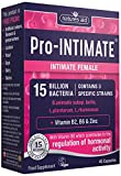 Natures Aid Pro-INTIMATE Vitamin B2, B6 and Zinc Intimate Female Wellbeing Capsules (15 Billion Live Cultures, 45 Capsules, 3 Strain Probiotic, Vegan Society Approved, Made in UK) from Natures Aid