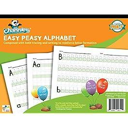 Channie da W302Easy Peasy alfabeto Handwriting Workbook Combine both Tracing & writing. Tante pratiche. Più facile e visiva Workbook sul mercato