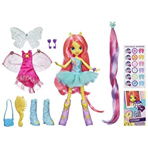 My Little Pony – Equestria Girls – Deluxe – Fluttershy – Poupée 23 cm (Import Royaume-Uni)