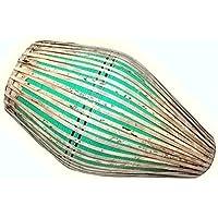 Vrindavan Bazaar Clay Mridangam drum- grün