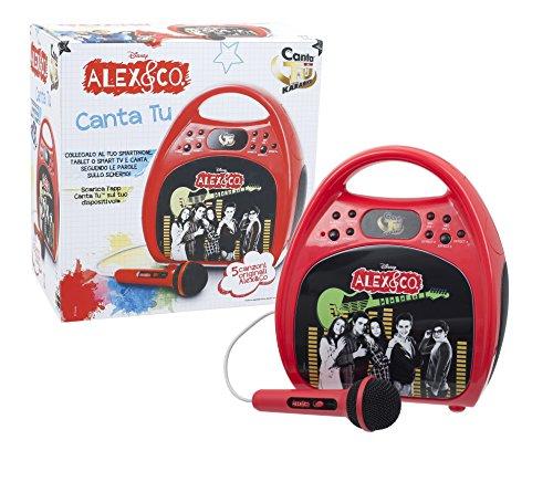 Giochi preziosi alex co canta tu karaoke con cassa for Alex co amazon