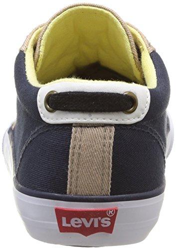 Levi's Pansy Unisex-Kinder Sneakers Blau (Navy Beige 103)