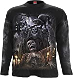 Spiral - Men - LIVING DEAD - Longsleeve T-Shirt Black