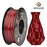 Filament PLA 1.75mm, ERYONE Sparky PLA Filament For 3D Printer and 3D Pen, 1KG, 1 Spool (Sparky Rojo)