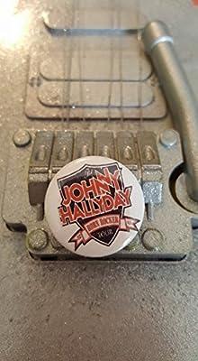 Badge Johnny Hallyday Born Rocker Tour