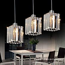 Lampadari moderni in cristallo con pendenti - Amazon lampadari cucina ...
