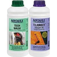 VAUDE, Set di manutenzione per lavaggio ed impermeabilizzazione, 2 x 1 litro