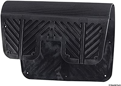 Piastra proteggi poppa 40 x 28 cm English: PVC transom pad 400x280 mm