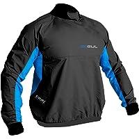 Gul Mens Shore Taped Spray Top Black Blue. Waterproof & Breathable - GCX2LITE: Waterproof & Breathable