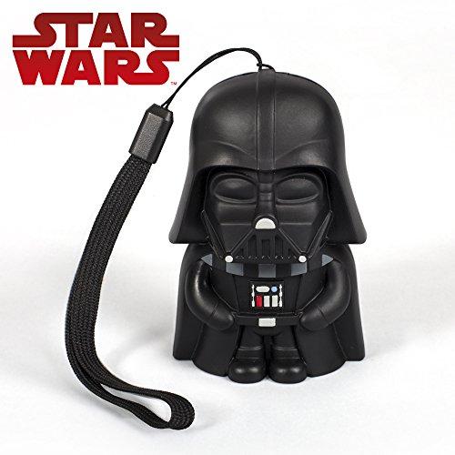 Tribe Cassa audio portatile Bluetooth Darth Vader (2 W) compatibile con tutti i dispositivi - Altoparlante Wireless Originale Star Wars