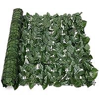 KX-YF Niños Chaqueta Impermeable Cerca de la Pared expansión de la Hoja Artificial Lvy Green Garden Pantalla Hedge Decoración Verde Chubasquero (Color : Green, Size : 100 * 300cM)