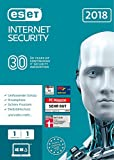 ESET Internet Security 2018 | 1 User | 1 Jahr Virenschutz | Windows (10, 8, 7...