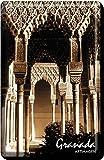 Imán Arcos, Alhambra de Granada 45x70 mm.