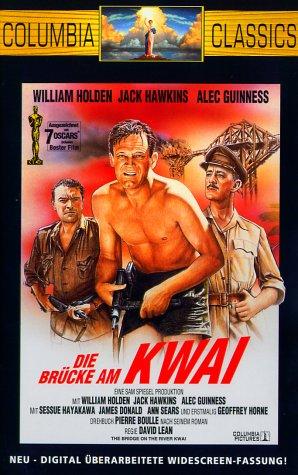 Bild von Die Brücke am Kwai [VHS]