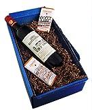 Geschenkset Premium Wein Chateau Bellevue Canteranne 2012 und Luxus Schokolade
