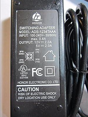 12V 5V 4broches AC Adaptateur secteur pour LaCie Hard Drive Design by F.A. Porsche 500Go