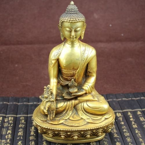 Sakyamuni Buddha-statue (Tibetische Messing Buddhismus Bodhisattva Sakyamuni Buddha Statue)