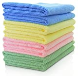 #9: Microfiber Towel & Cleaning Cloth - (12x12 inch) (10)