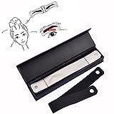 Pinkiou Augenbraue Tattoo Schablone Augenbraue Form Schablone Augenbraue Shaper Augenbraue Design Gürtel Eyeliner Schablone