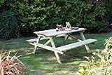 Rowlinson 5ft Picnic Bench (Garden & Outdoors)