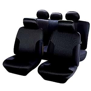 housses de si ge noir banquette 1 3 2 3 pour citroen c4 cactus qd204. Black Bedroom Furniture Sets. Home Design Ideas