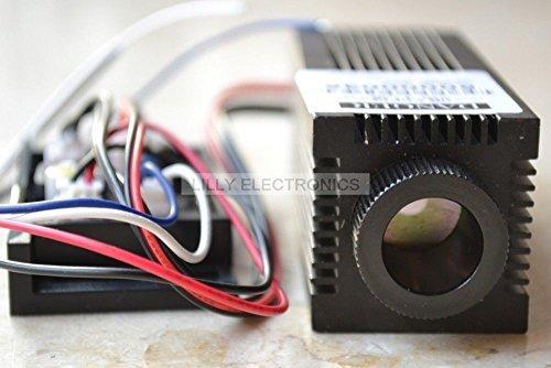 fokussierbar 0,4W 808nm Infrarot Laser Diode Modul mit Treiber BOARD -