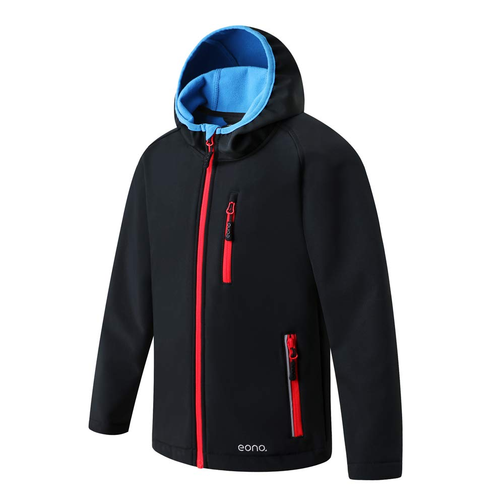 Brand: Eono Essentials, giacca soft shell con cappuccio